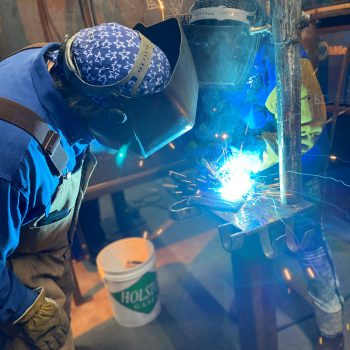 Specialized training in structural welding