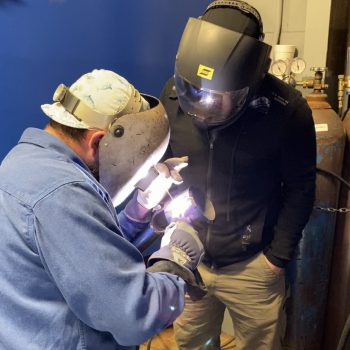 work as a knowledgeable welder