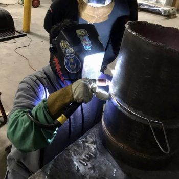 train master welders skilled in GMAW, SMAW, FCAW and GTAW