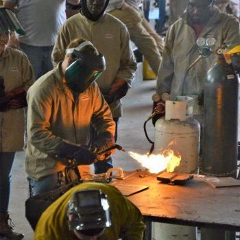 weld training in Piedmont Greenville area