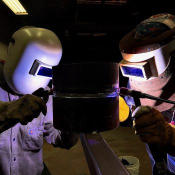 welder students career training programs
