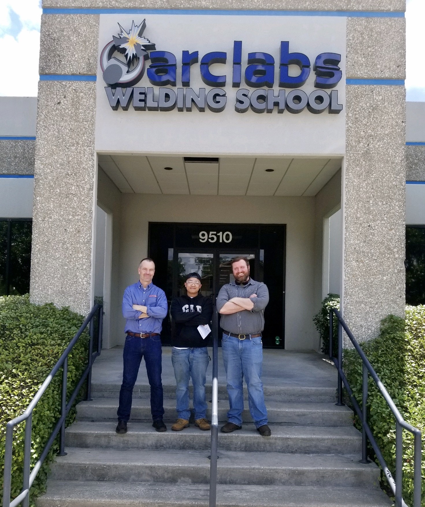 BAE Systems visits Arclabs welding school