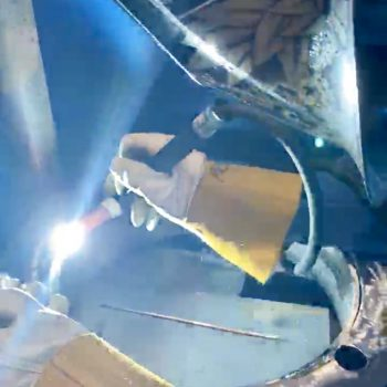 GTAW pipe welding concentration
