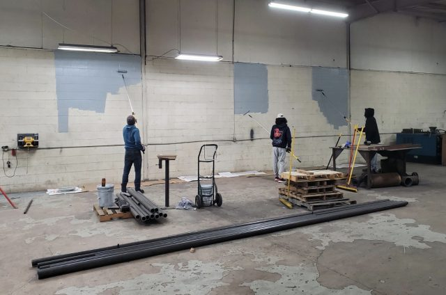 welding campus build at Arclabs