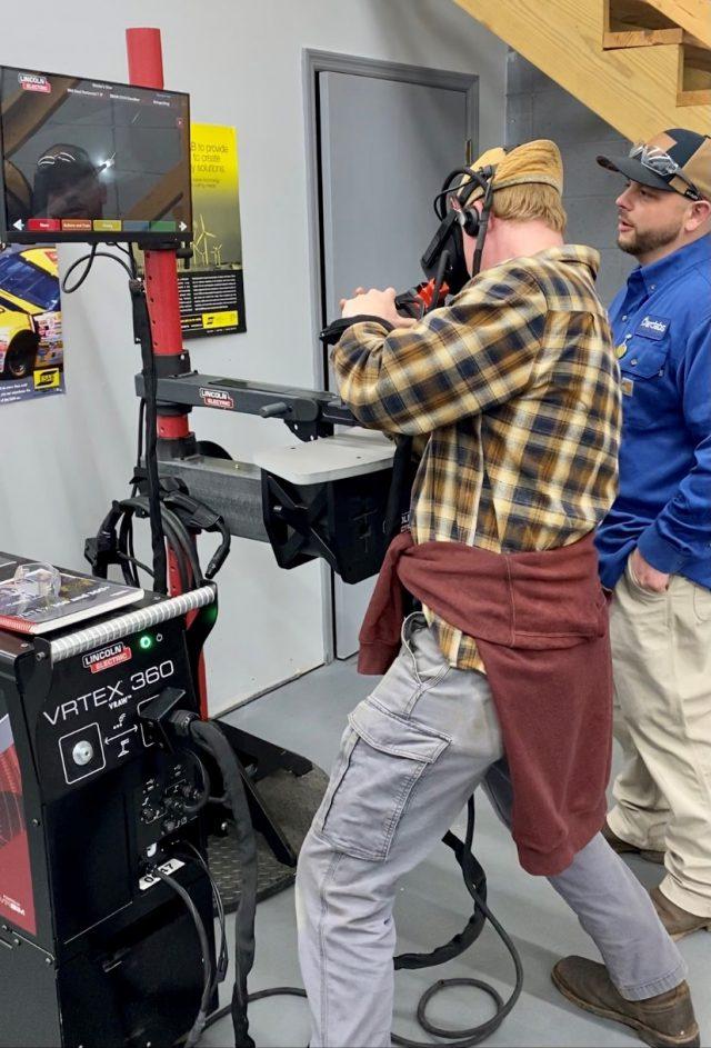 Virtual Welding Program at Arclabs