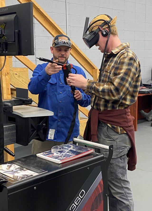 VR welding technology