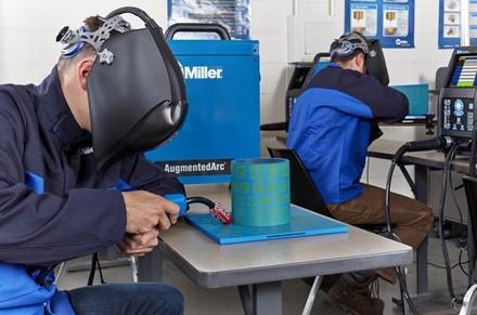 virtual welder training