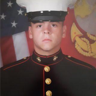 Jonathan Crompton Jr., Instructor, Welder in Marine Corps