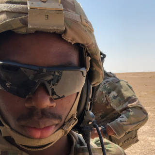 Lorenz Smith, Combat Engineer in the Army