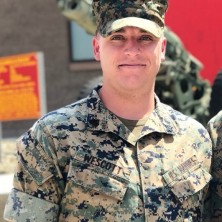 Tristan Wescott, Infantry in Marine Corps